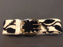 Women's cute embroidered belt