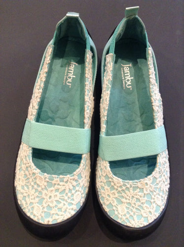 Women's Crochet Balerina Slip-on