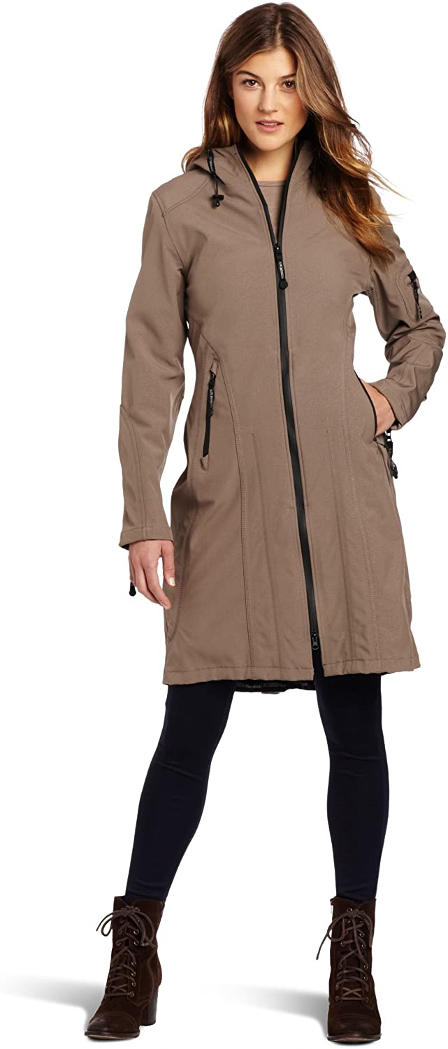 Women's Insulated Trench Raincoat