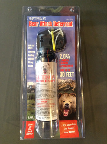 Bear Spray (Local pick-up)