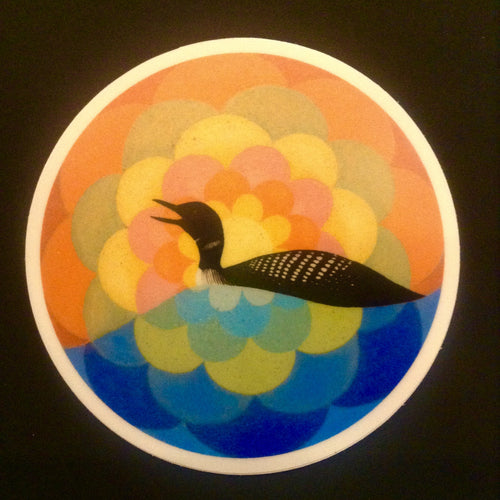 Loon Sticker set of 2
