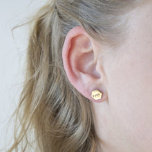 CAN'T EVEN, Hexagon Earrings