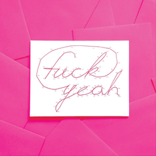 Greeting Card--Connect the Dots: Fuck Yeah by Warren Tales