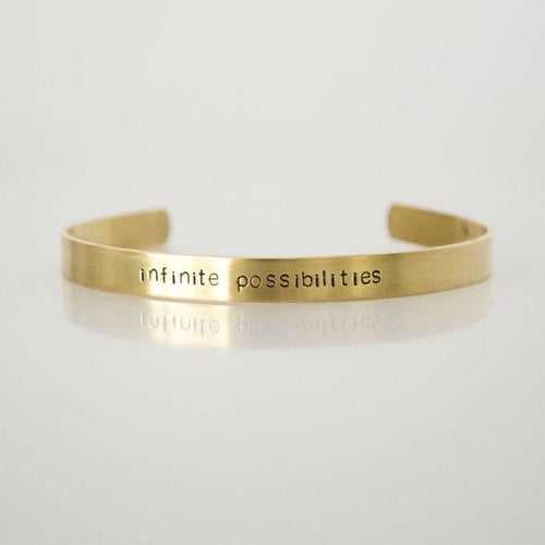 infinite possibilities, Brass Cuff