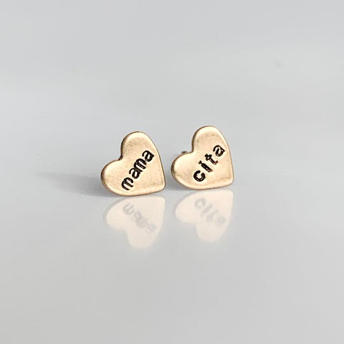 mama cita, Heart Earrings