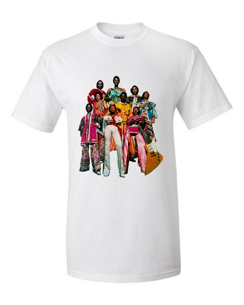 Earth, Wind & Fire Shirt (White)