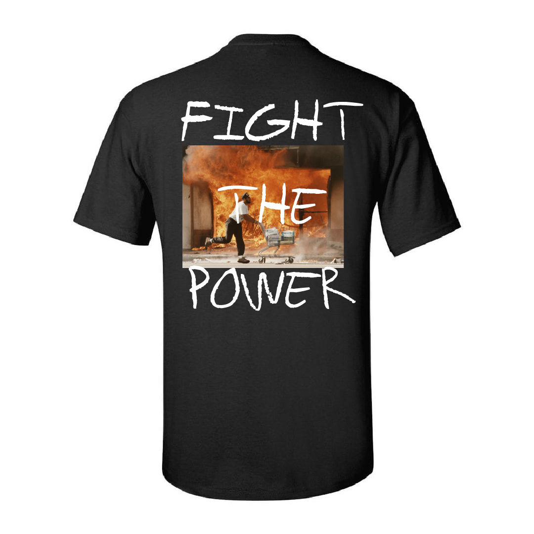 Fight The Power T-shirt (Black)