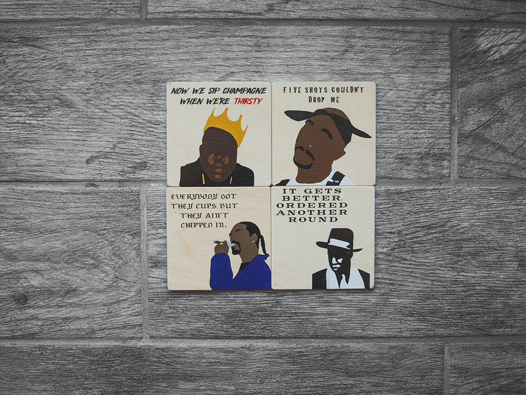 Rappers Coaster Set