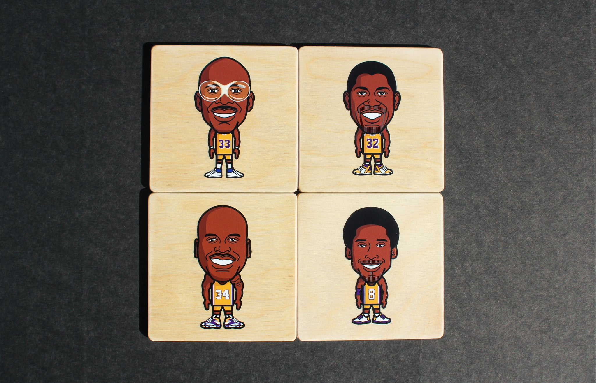 Los Angeles Lakers Coaster Set