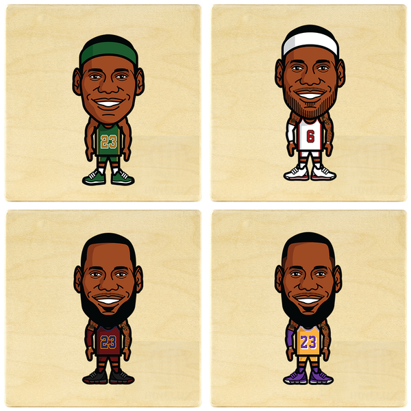 LeBron James Coaster Set