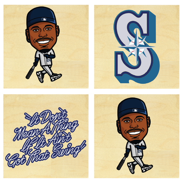 Ken Griffey Jr.  Coaster Set