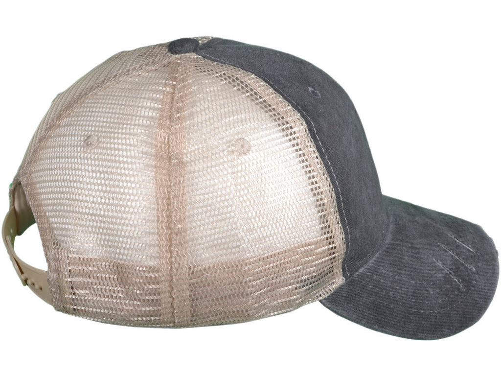 Papichulo Style Distressed Mesh Trucker Hats - Papichulo Style