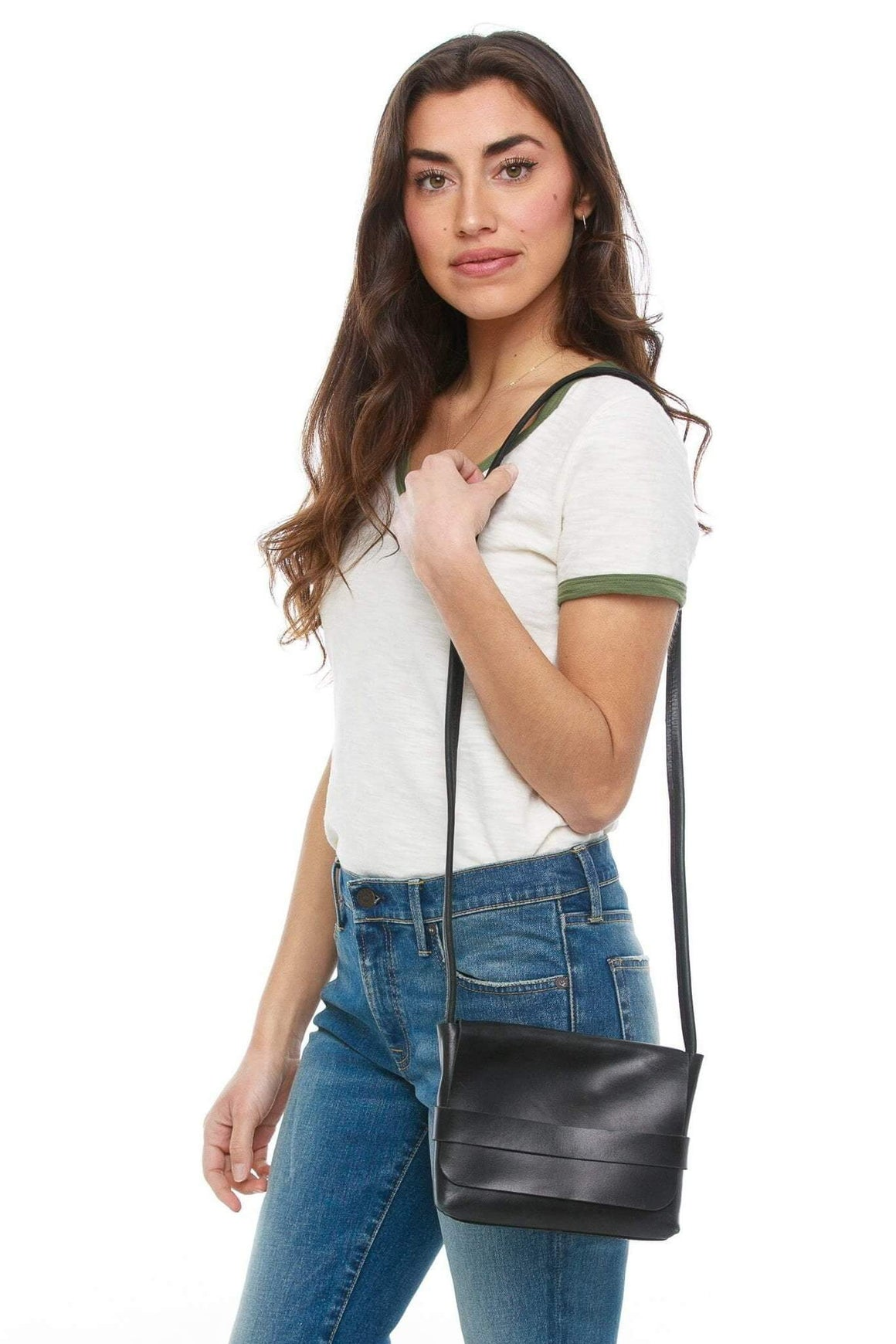 Mare Crossbody in Black