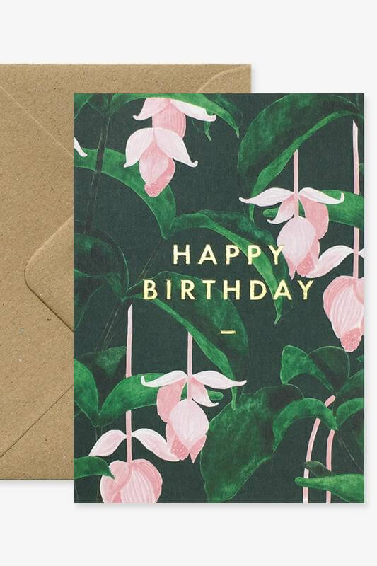 All The Ways To Say Medinilla Birthday Card