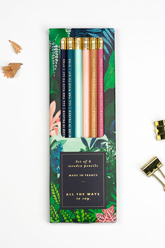 All The Ways To Says Wild Pencil Set