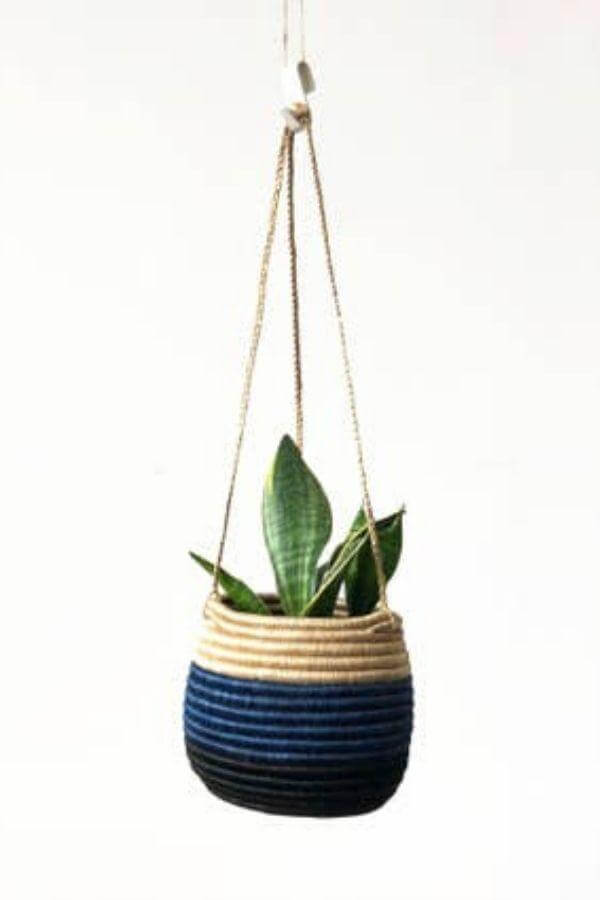 Hanging Woven Planter