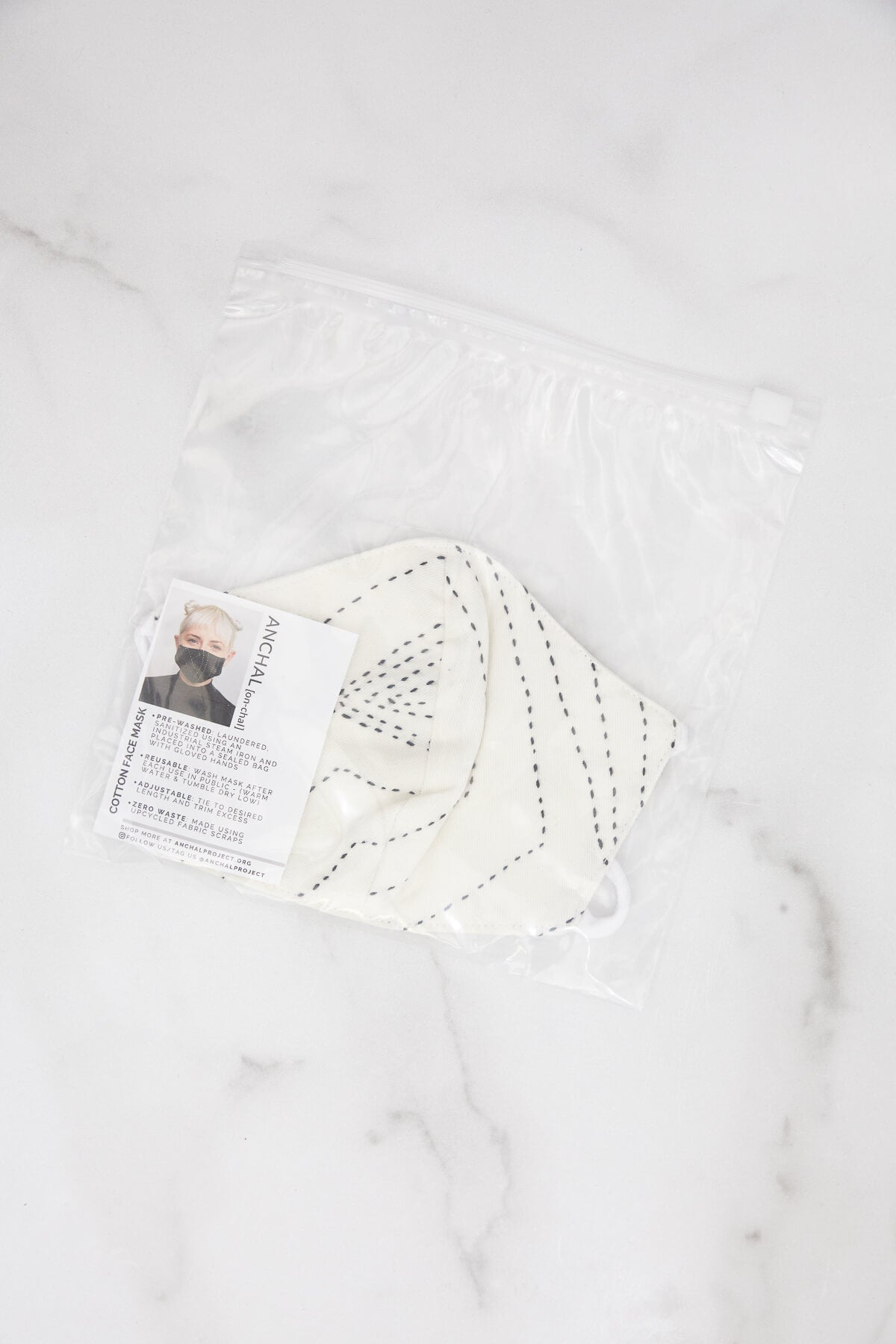 Anchal Project Organic Cotton Face Mask