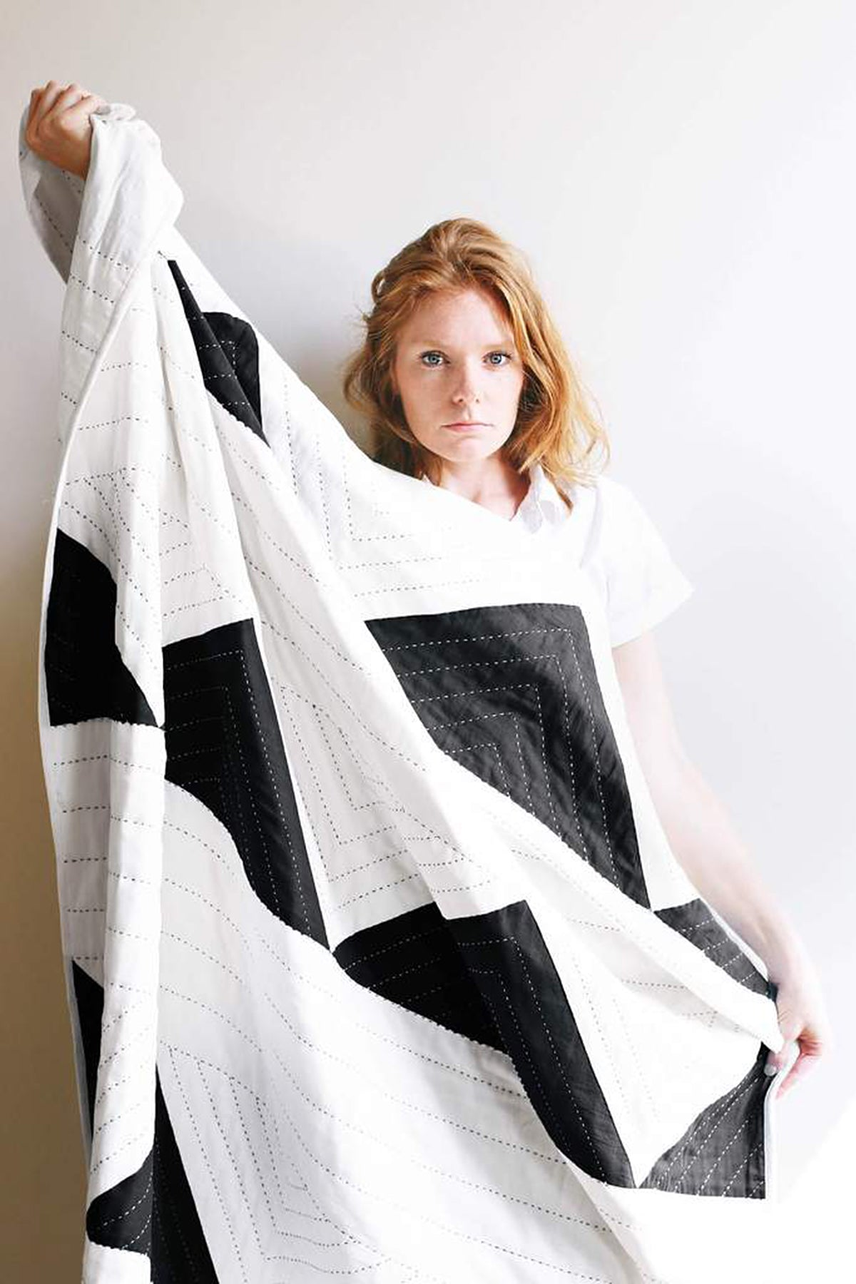 Anchal Project Triangle Quilt Throw