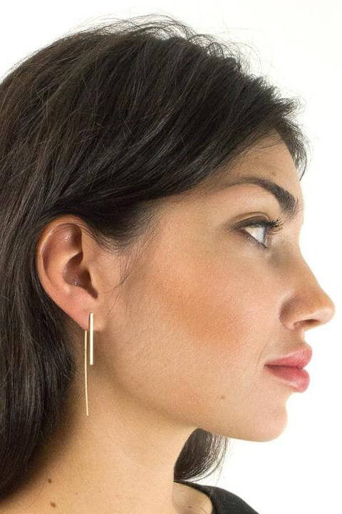 Long Tail Earrings