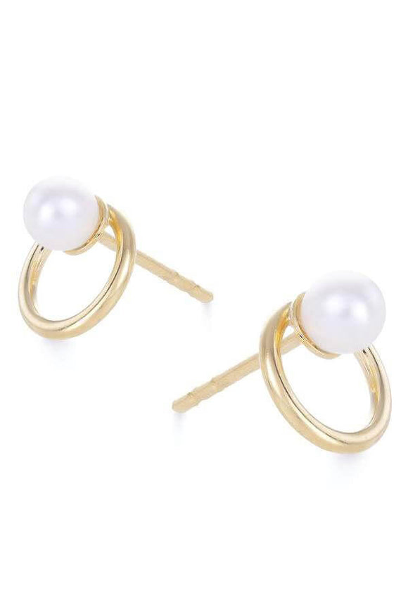 Shore Studs in White