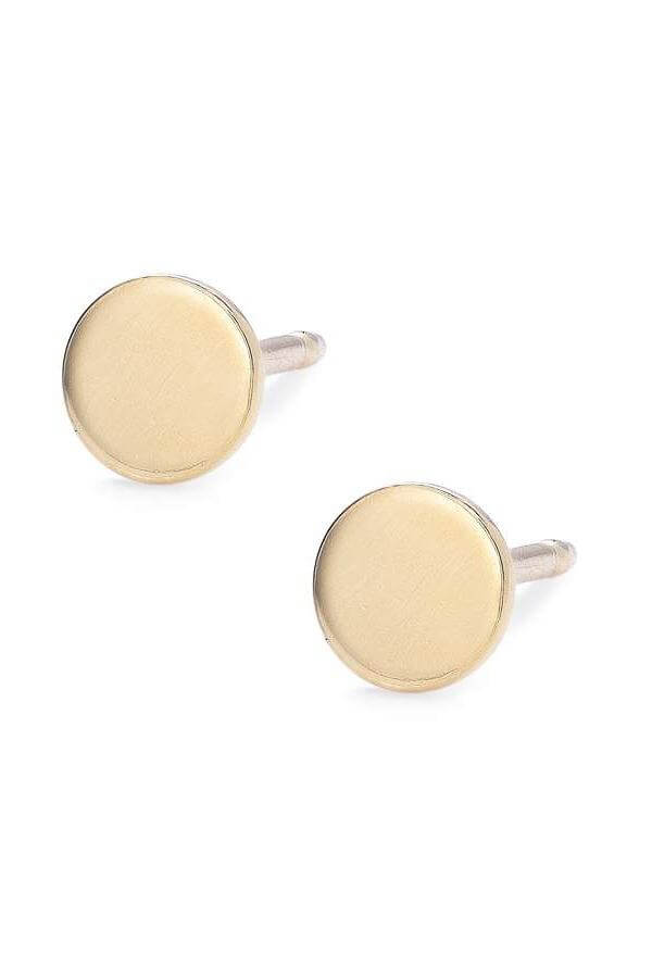 Baleen Teeny Tiny Circle Studs