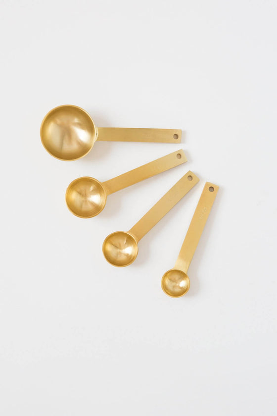 Gold Measuring Spoon Set