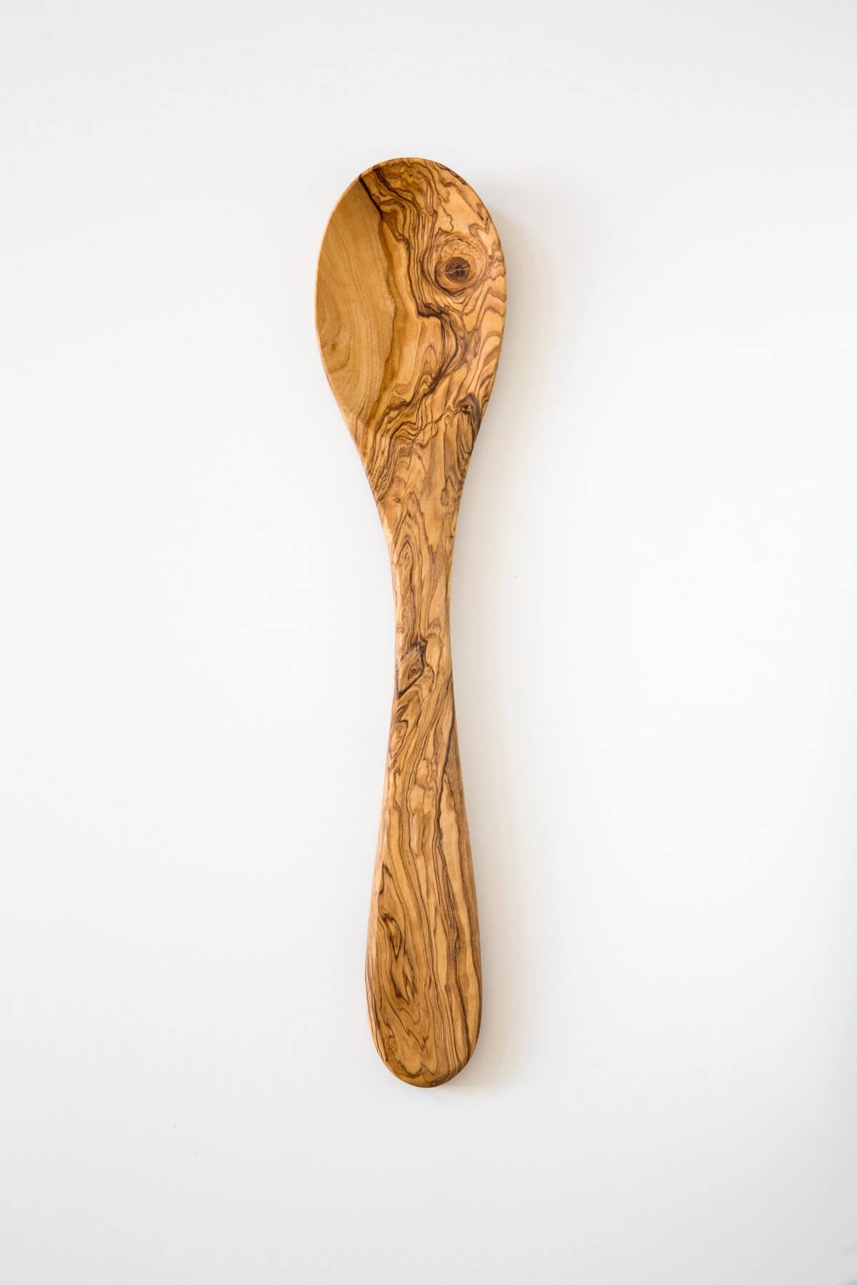 Be Home Olive Wood Long Serving Spoon