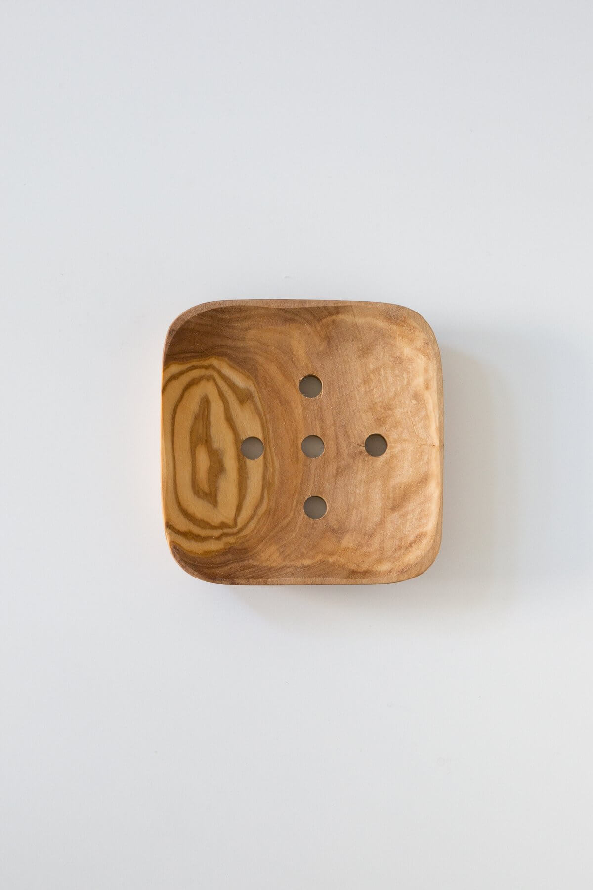 Be Home Olive Wood Soap Dish