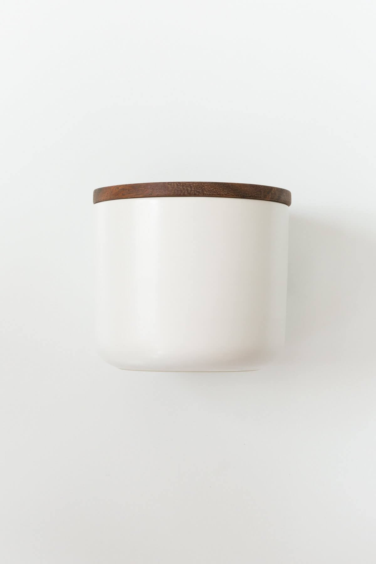 Be Home Stoneware White Ceramic Container