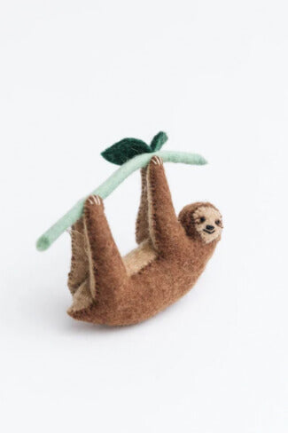 Craftspring Lazy Days Sloth Ornament
