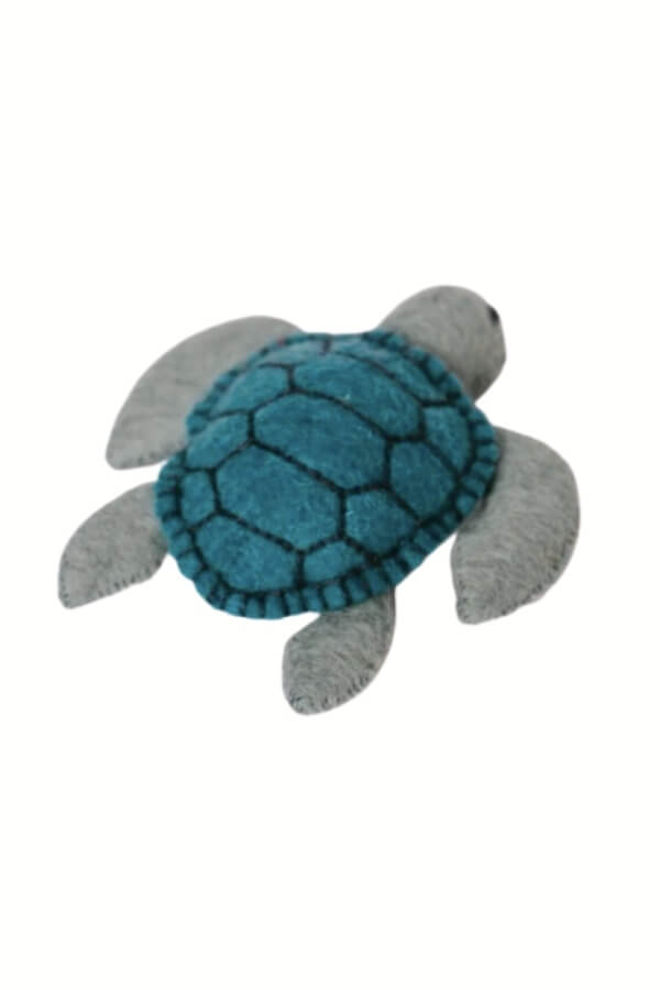 Craftspring Moon Tide Sea Turtle Ornament