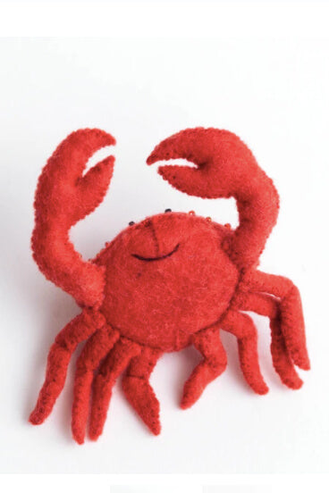 Craftspring Red Crab Ornament