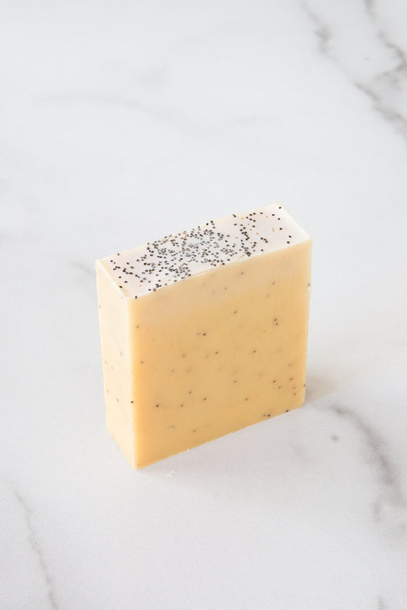 Citrus Poppy Seed Soap