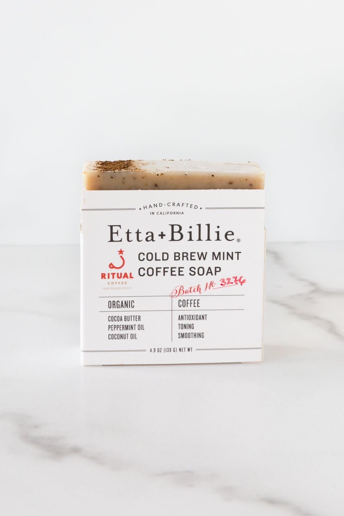 Etta + Billie Coffee and Mint Soap