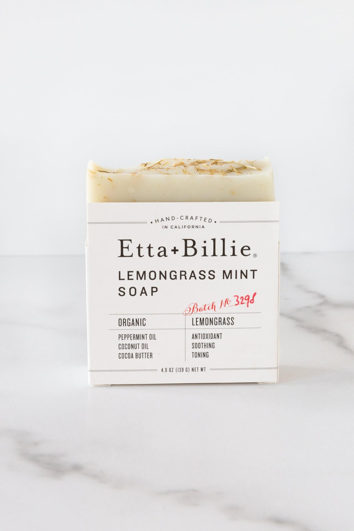 Etta + Billie Lemongrass Mint Soap