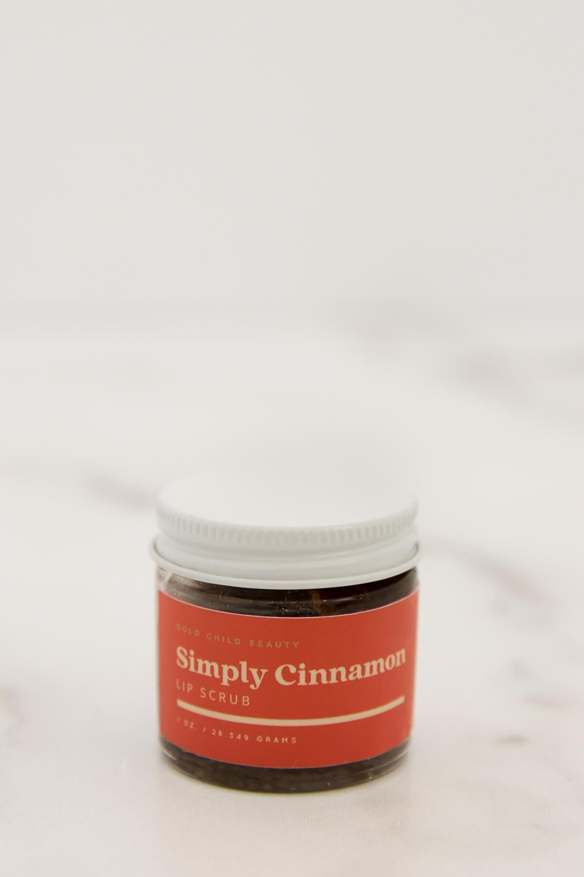 Gold Child Beauty Lip Scrub Simply Cinnamon