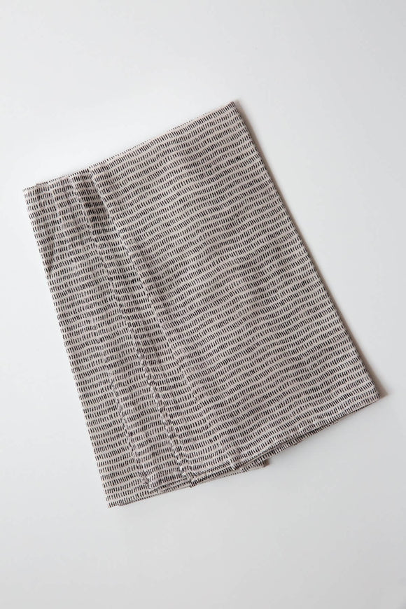 Alice Stripes Black Napkin Set
