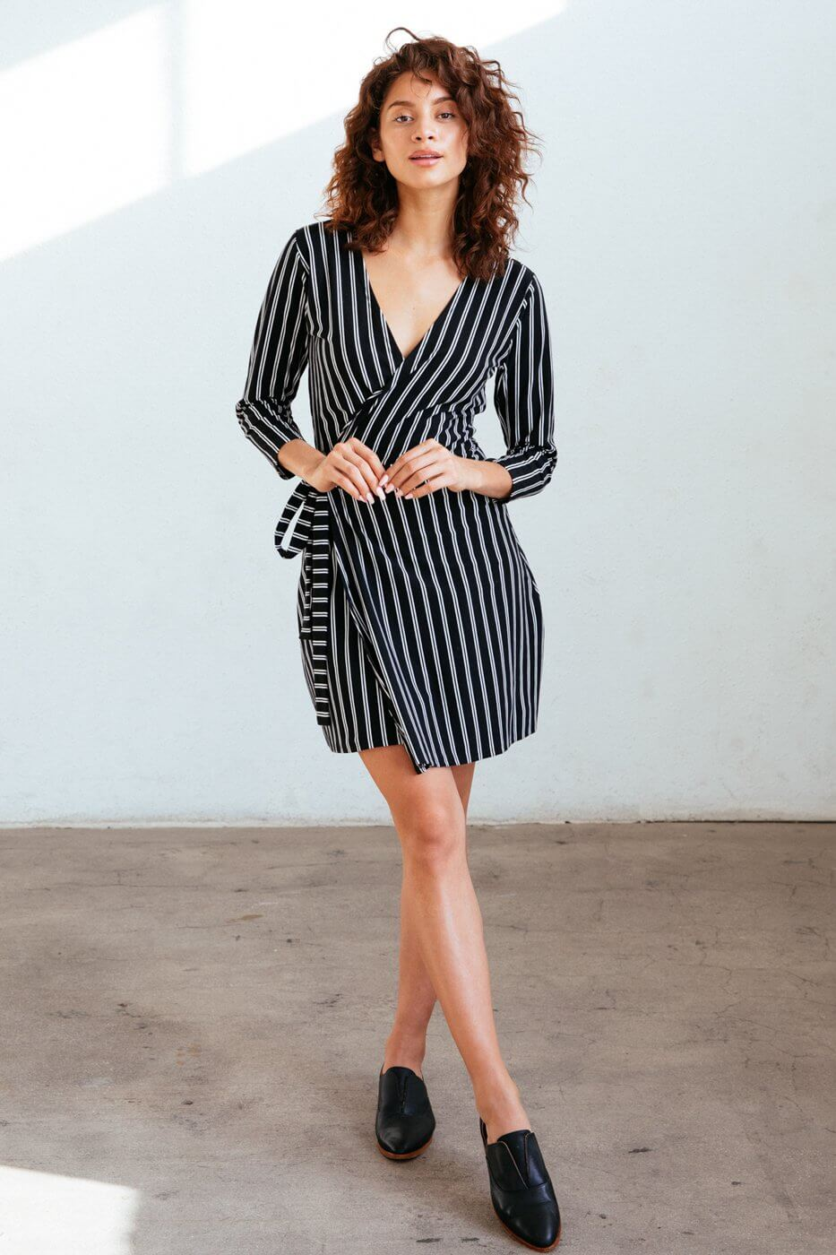 Known Supply Sadie Wrap Dress