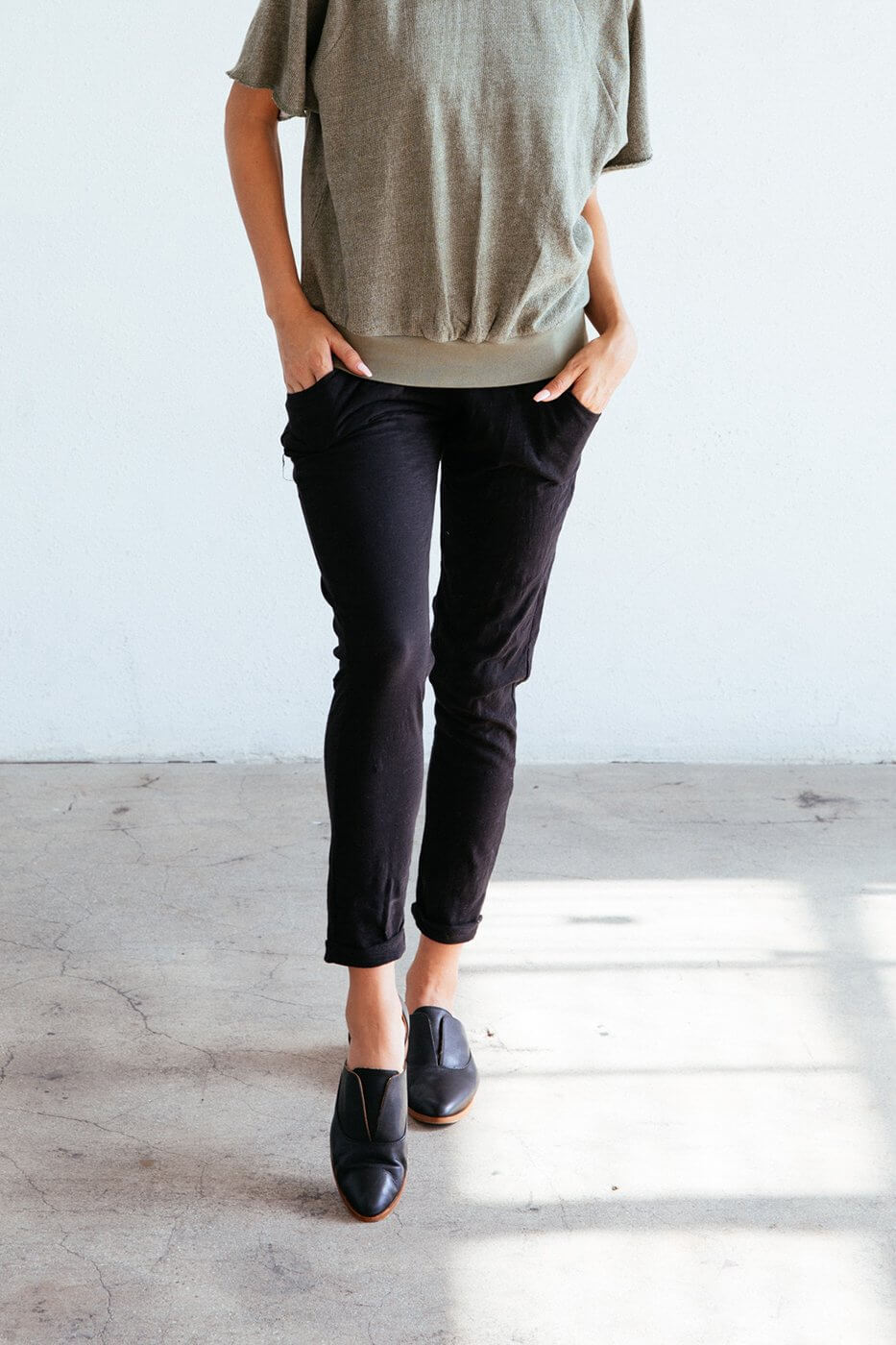 Sequoia Pant in Black