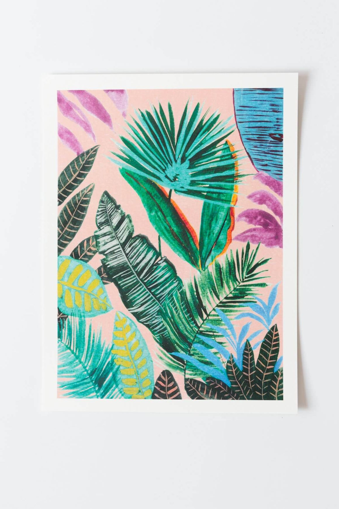 Deep Jungle 1 Art Print