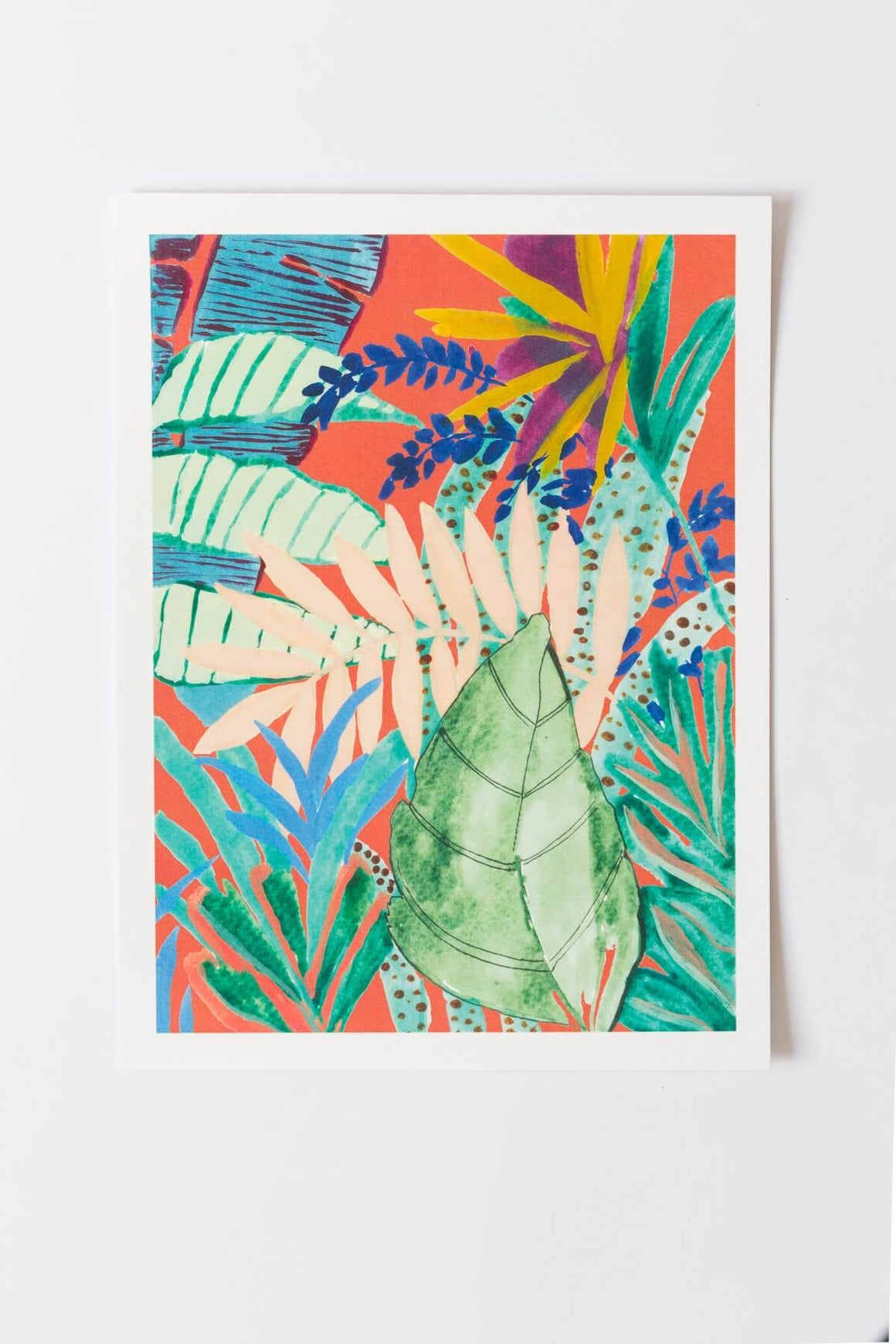 Deep Jungle 2 Art Print