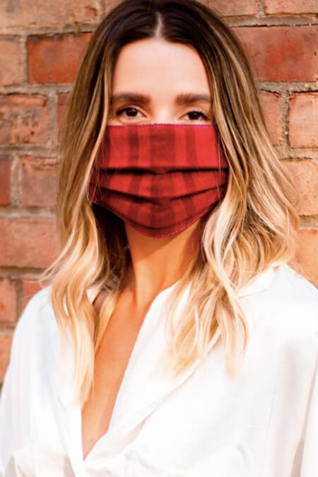 Mercado Global Simple Textile Face Mask