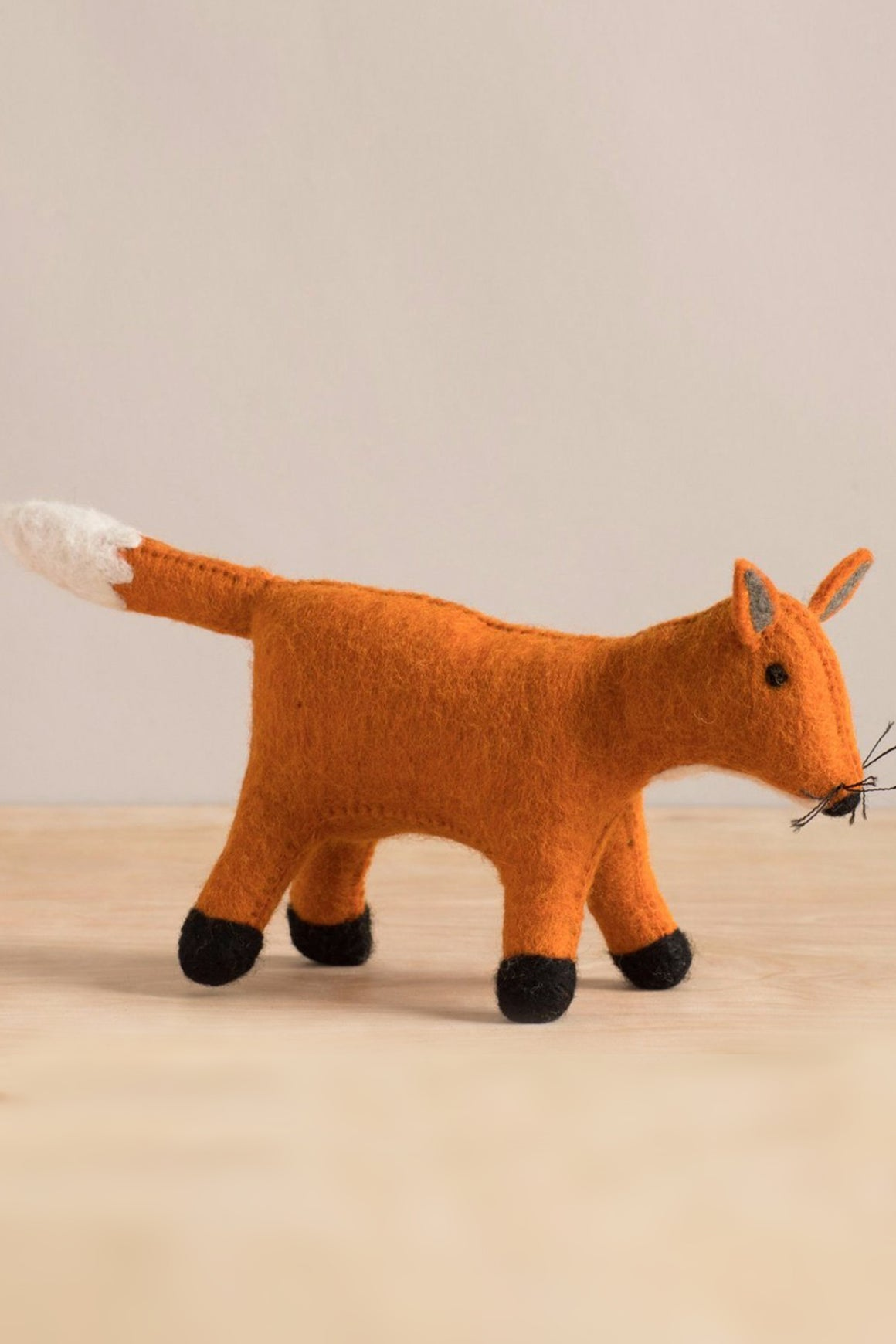 Hand Felted Fox
