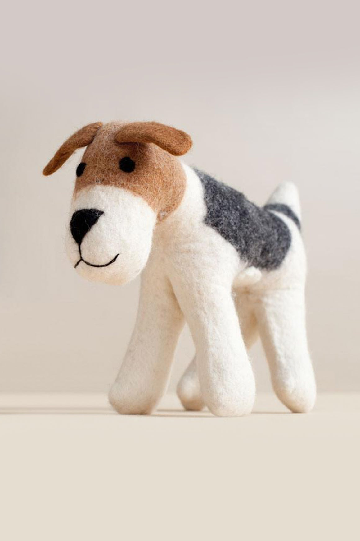 Hand Felted Terrier Dog