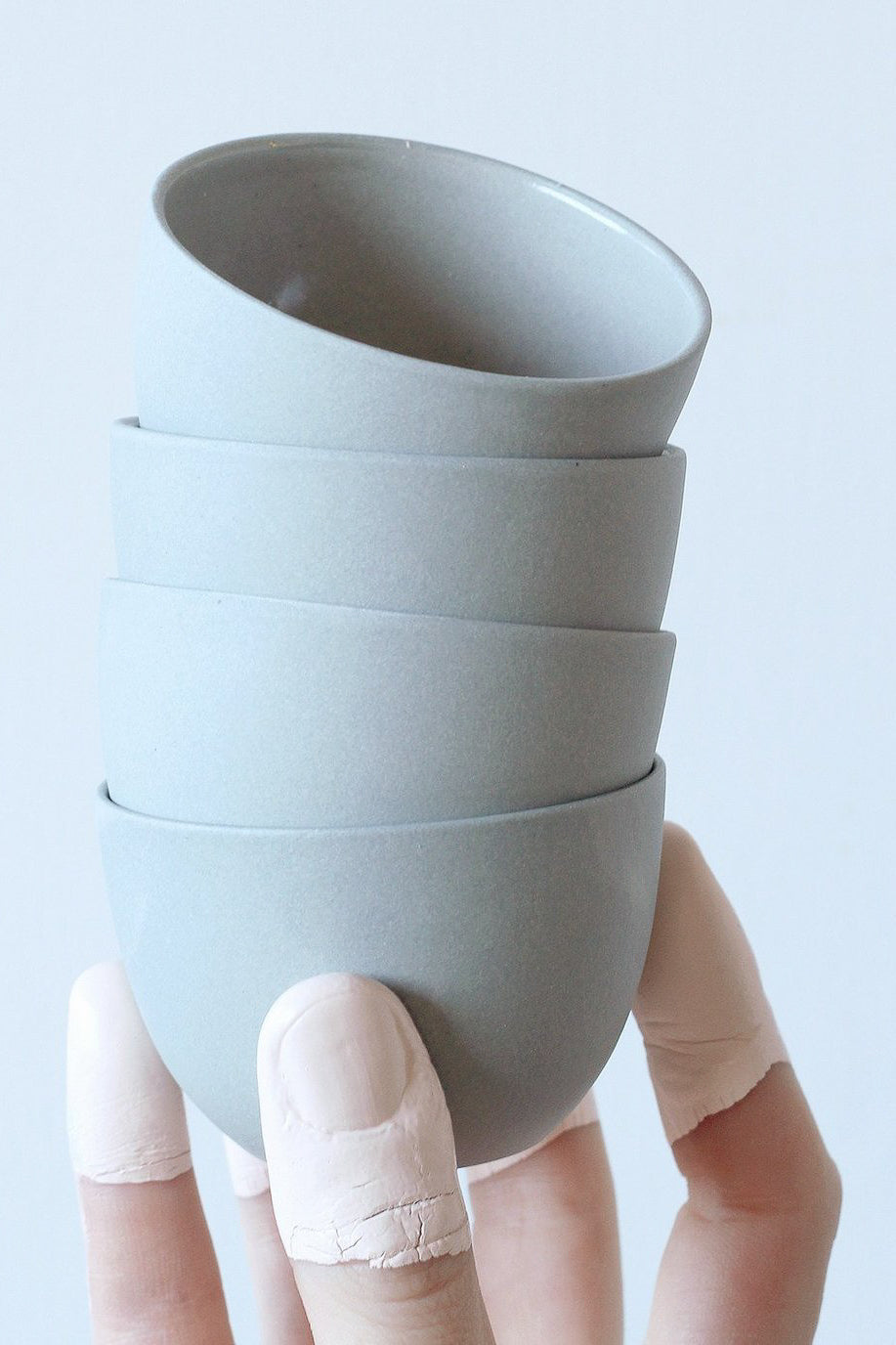 Pigeon Toe Ceramics Stacking Thimble Cup