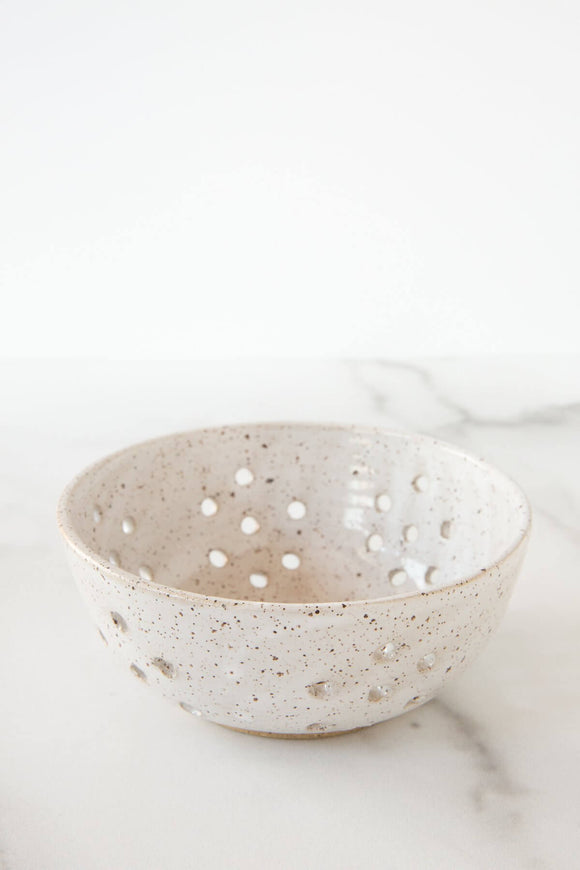 Berry Bowl in White