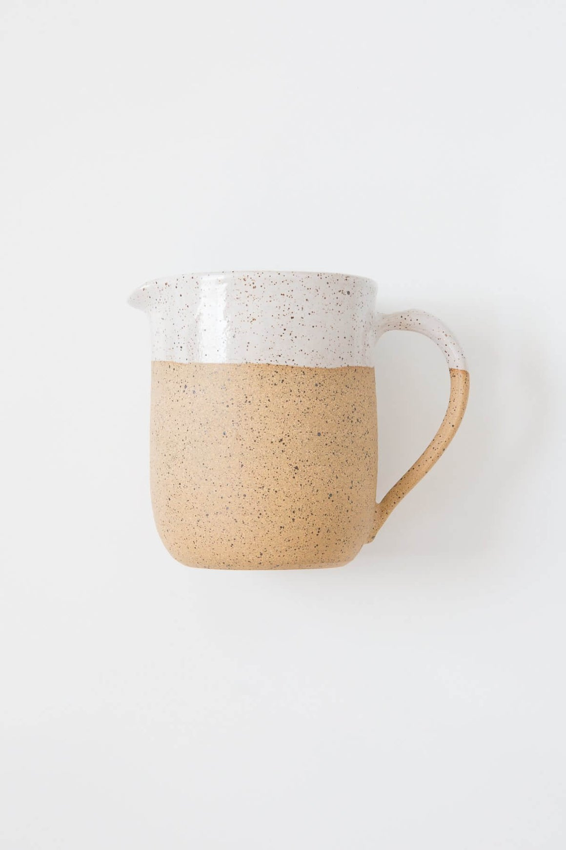 Rachael Pots Small Speckled Pitcher
