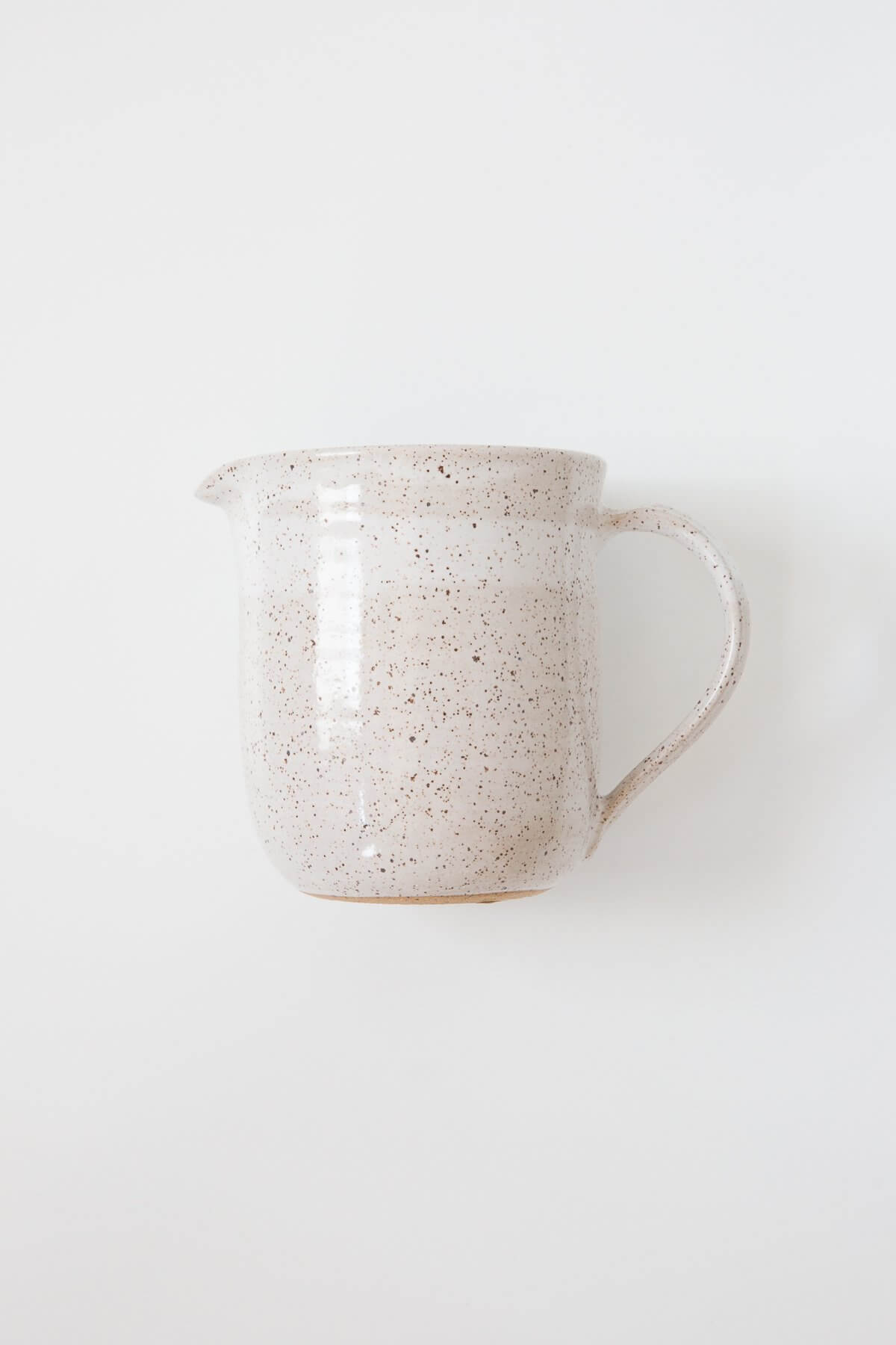 Rachael Pots Small Speckled Clay Pitcher