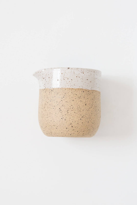 Rachael Pots Speckled Creamer