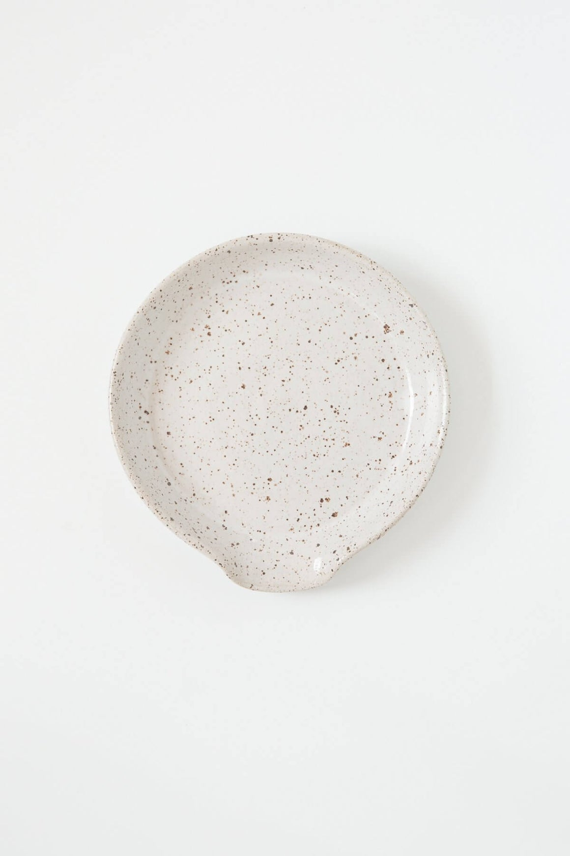 Rachael Pots Speckled Spoon Rest